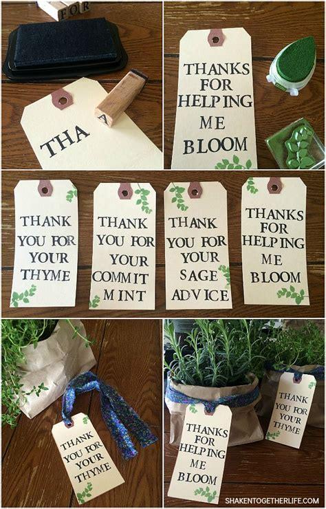 herb garden gift ideas 25 best ideas about volunteer gifts on