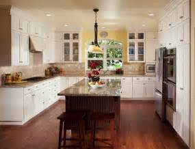 Large Kitchen Design Ideas by Bloombety Large Kitchen Island Design With Wooden Chair