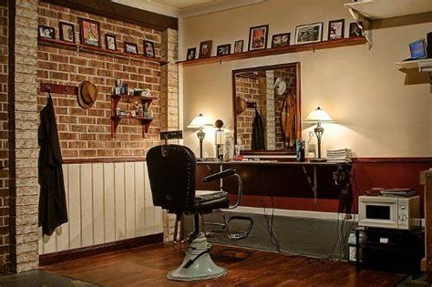 color removing shoo turn your garage into a barbershop the brick home and