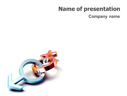 powerpoint templates free download gender gender powerpoint template backgrounds 01685