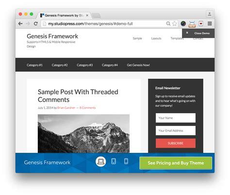 Genesis Framework V2 5 4 studiopress genesis theme framework 10 v2 4 2