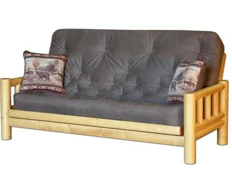 Rustic Futon by Bradley S Furniture Etc Rustic Log And Barnwood Futons