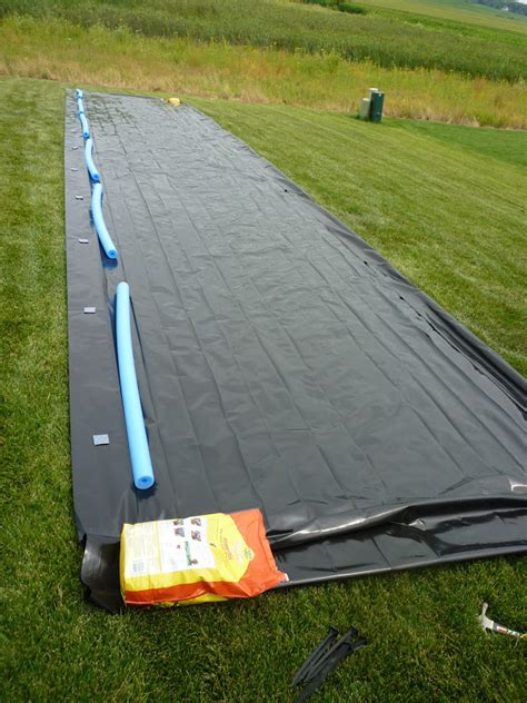 backyard slip n slide best slip n slide ever from wiredgeekdad digitalmisery com
