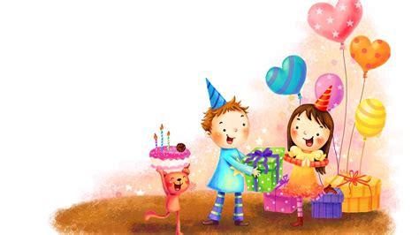 birthday wallpaper with cartoon birthday hd walldevil