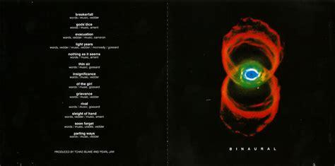 Kaset Pearl Jam Binaural 1 pearl jam binaural 5 cd box chile cd album www pjcollectors