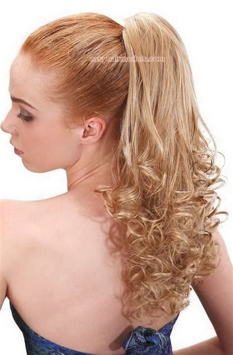 evening ponytail hairstyles prom hairstyles ponytail