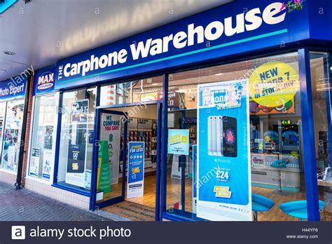 mobile phone shop carphone warehouse shop store front sign signs mobile