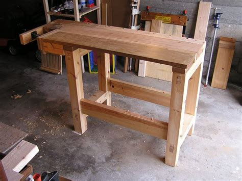 how to make a small bench build wooden small workbench plans plans download small
