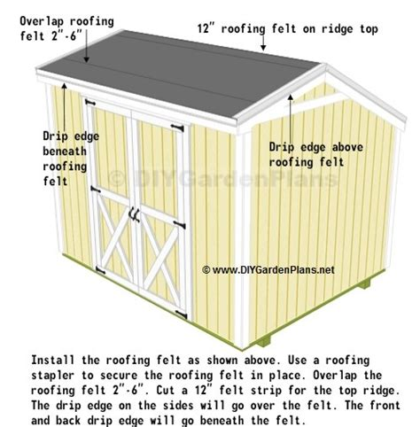 shingles saltbox shed plans page