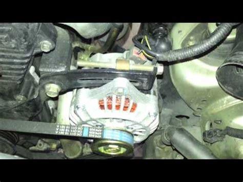 kia sportage alternator problems alternator removal replacement kia optima 2001 2006