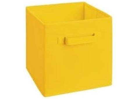 Yellow Fabric Drawer by Closetmaid Fabric Storage Cube Bin Organizer Flat Fold