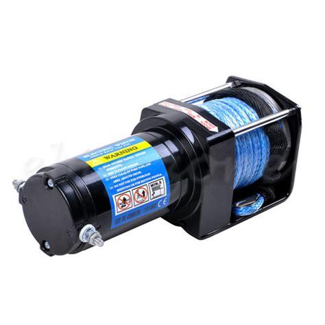 electric boat winch ebay electric winch 4000lb 1814kg 12v wireless remote