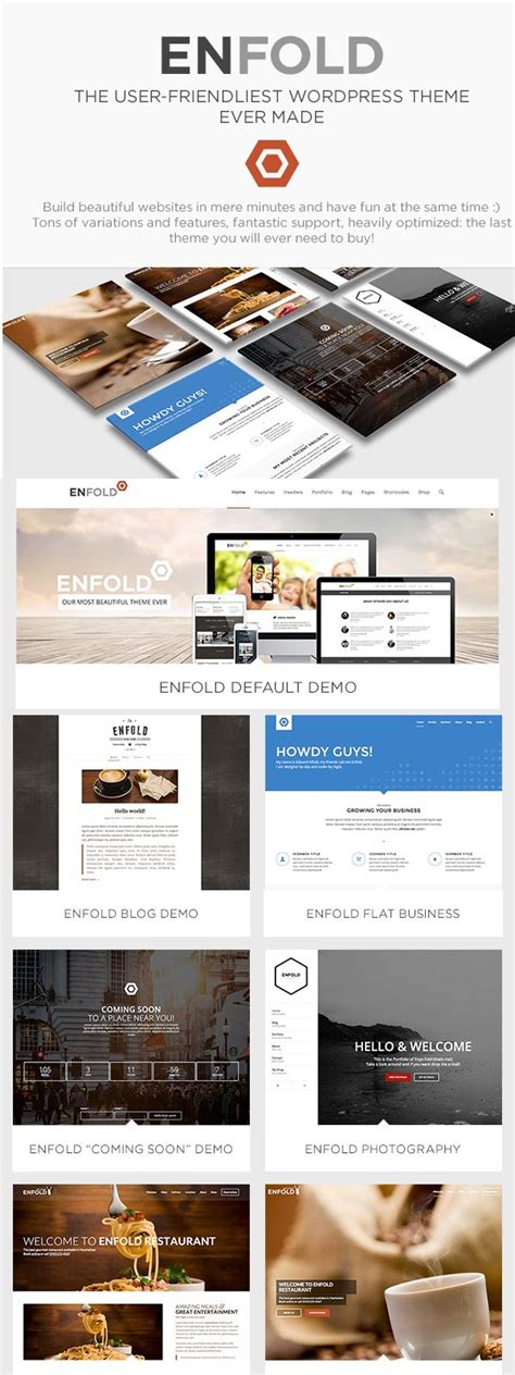 enfold theme forms 15 best wordpress business themes