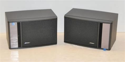 bose 141 series ii bookshelf speakers pair black ebay