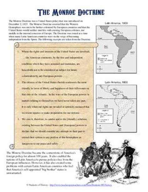 Doctrine Worksheet by Doctrine Primary Source Analysis Homework Early