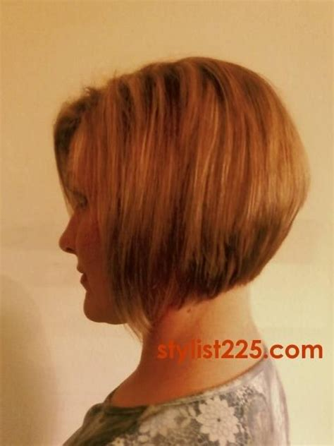 stacked haircuts for hair that show front and back stacked bob hairstyles back view category hc inverted