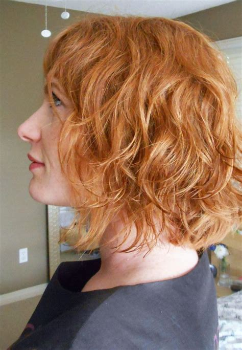 beach wave perm on short hair beach wave perm hair pinterest