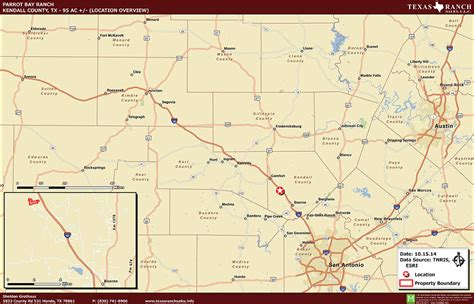 kendall county texas map texas ranch for sale 95 acres ranch real estate in kendall county