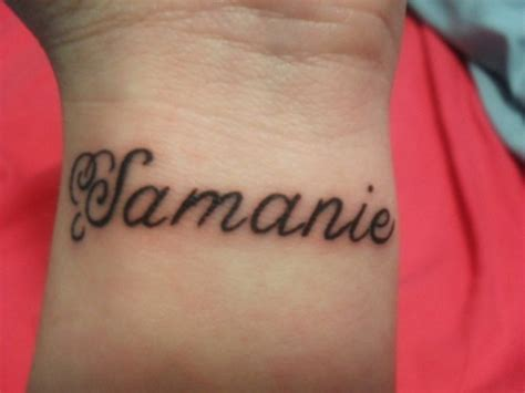 small phrase tattoos 35 stunning name wrist designs