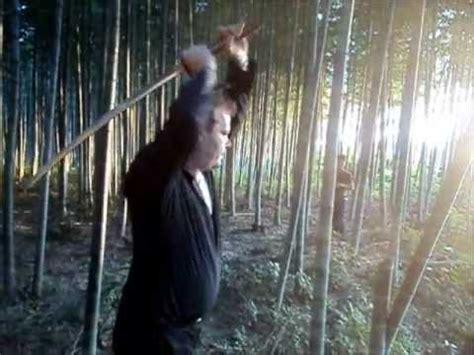 Pedang Samurai Katana Gijoe Hq Steel Tebas Paku mizuchi katana 1095 elite series review cutting test doovi