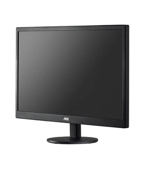 Monitor Led Aoc 19 Inch aoc e2070swn 19 5 inch led monitor buy rs 6046 snapdeal