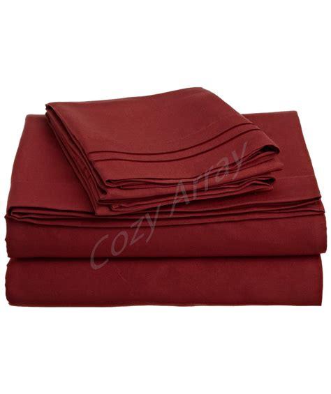 1500 thread count series deep pocket split king bed sheet