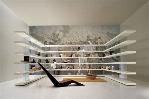 librerie lago libreria air una libreria in legno sfida la gravit 224