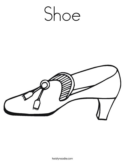 Free Coloring Pages Of Nike Shoe Shoe Coloring Pages