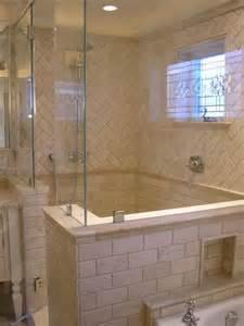 Master Bathroom Tile Ideas Travertine Tile Shower Designs Design House Interior