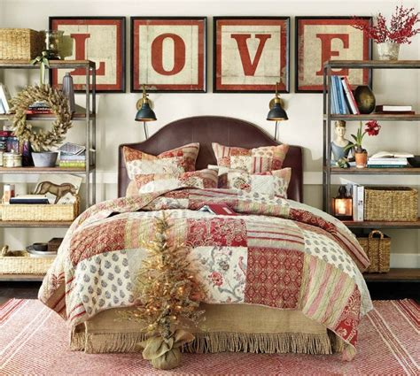 christmas bedroom cozy christmas bedroom decorating ideas festival around