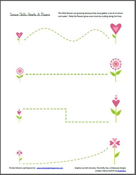 preschool scissor activities printable scissor practice worksheets for preschoolers fine motor