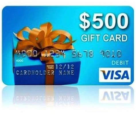 Visa Gift Card Only 1 - 500 visa gift card giveaway whole mom