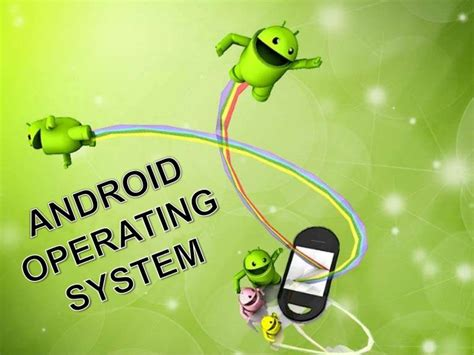 android operating system power point presentaton on android operating system
