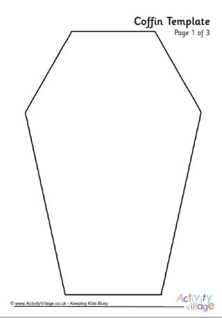 coffin template templates