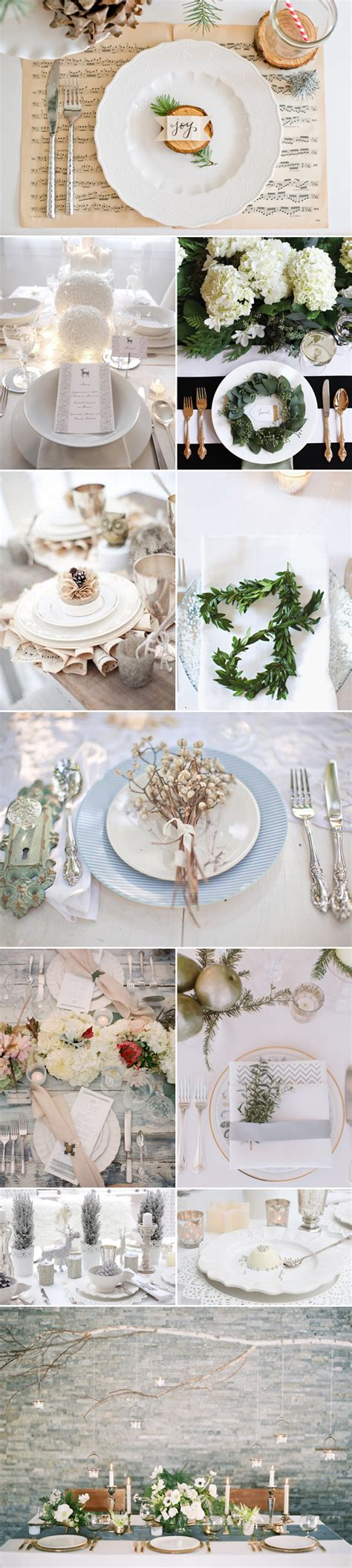 place setting ideas 20 winter wedding place setting ideas praise wedding