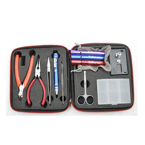 Coil Master V1 Diy Toolkit In Bag Clone coil master tool diy kit for rda rba rta rdta atomizer professional diy tool bag coiling kit