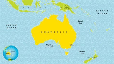 map of countries in australia australia country profile national geographic