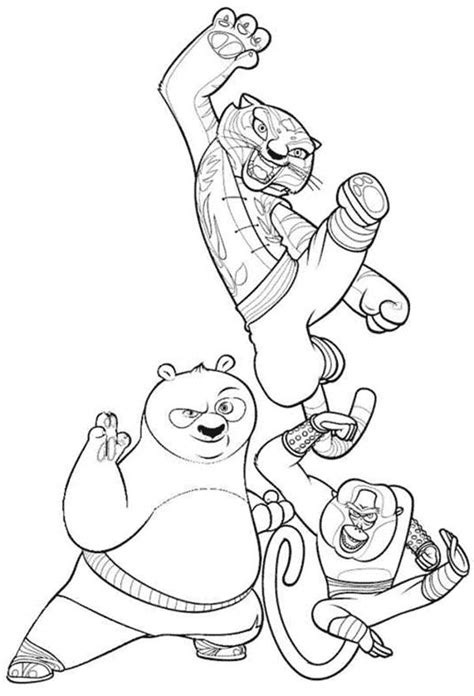 free coloring pages of monkey kung fu panda free coloring pages of monkey kung fu panda