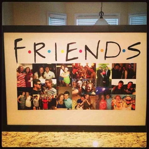 Handmade Photo Collage For Birthday - 25 best ideas about friends picture frame on