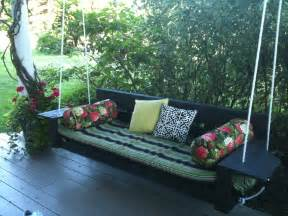 porch swing bed plans images