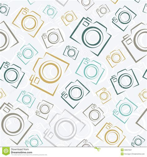 pattern background camera seamless photo cameras pattern royalty free stock
