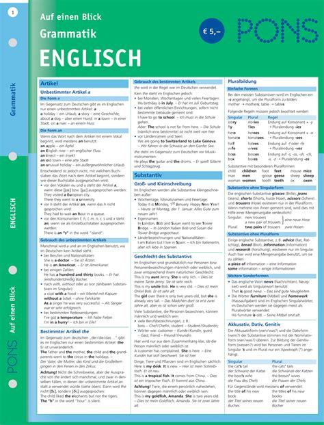 Kundenservice Auf Englisch Schreiben Pons Grammatik Auf Einen Blick Englisch Pons