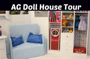 ag doll house tour living room set overview for american