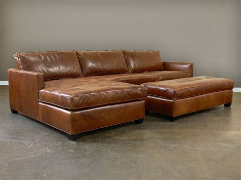 leather sectional with ottoman grain leather sectional sofa hereo sofa