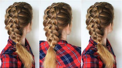 hairstyles step by step braids how to braid 5 strand braid step by step