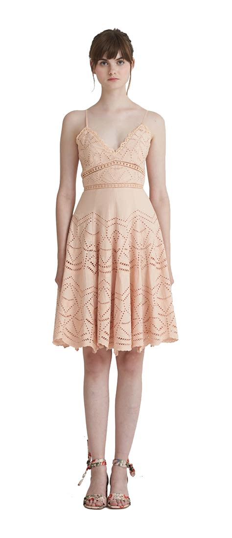 Zia Dress zia broderie flare dress