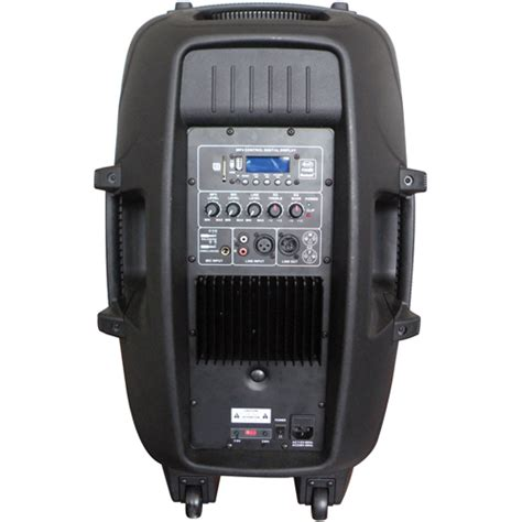 Britelite Irocker Portable Bluetooth Dj Speaker With Led