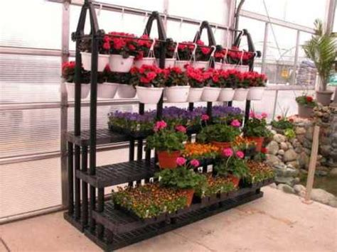 plant benches stands greenhouse plant benches green houses and sunrooms