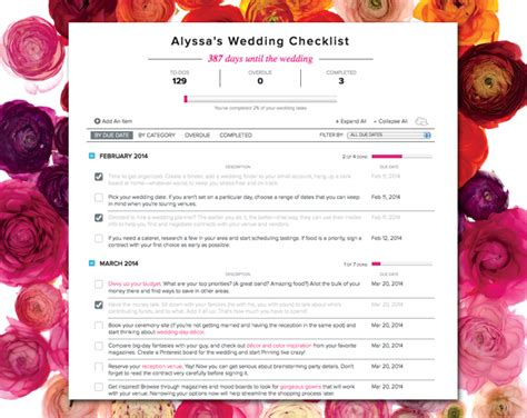 Wedding Checklist Easy by The Importance Of Printable Wedding Planning Checklist