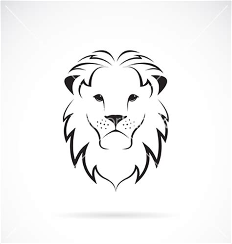 easy lion tattoo designs lion head silhouette vector images over 290